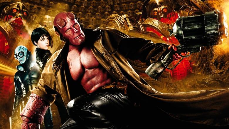Hellboy 2: El ejército dorado (2009) Online Completa en Español Latino
