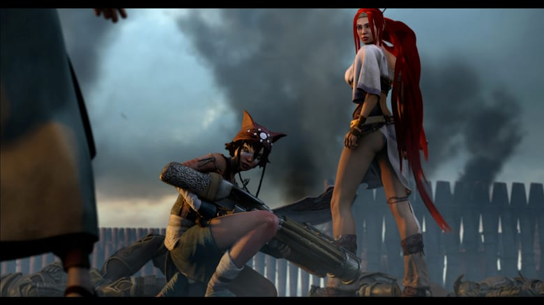 Heavenly Sword Online (2014) Completa en Español Latino